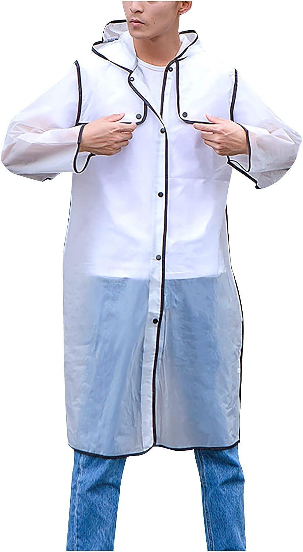 GOODTRADE8 Cardigan Sweaters Women and Man Casual Long Sleeve Windbreaker Waterproof Raincoat
