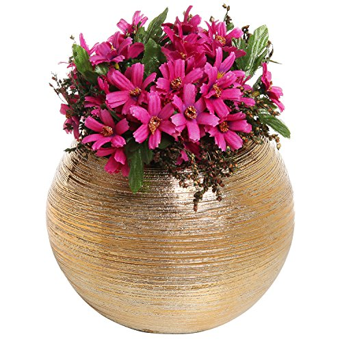 Brass Flower Vase - 7