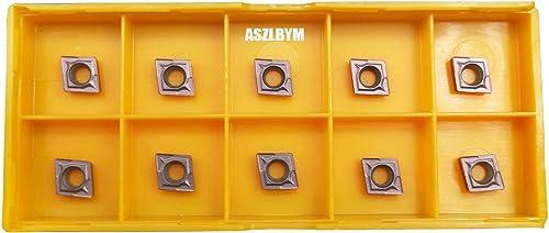 popular ASZLBYM CCMT21.51 / CCMT060204 new arrival CNC Lathe Indexable popular Carbide Turning Insert (CCMT21.51 brown) sale