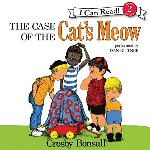 The Case of the Cat's Meow audiobook cover art