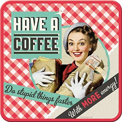Nostalgic-Art 46119 Say it 50's Have a Coffee, Untersetzer