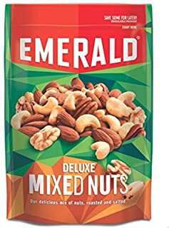 Emerald Deluxe Mix Nuts 5 Ounce  (Pack of 4)