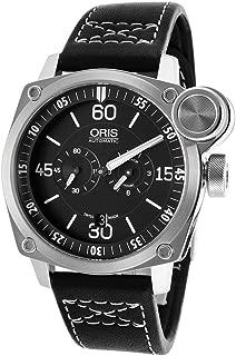 BC4 Der Meisterflieger Automatic Steel Mens Luxury Strap Watch Calendar 749-7632-4194-LS