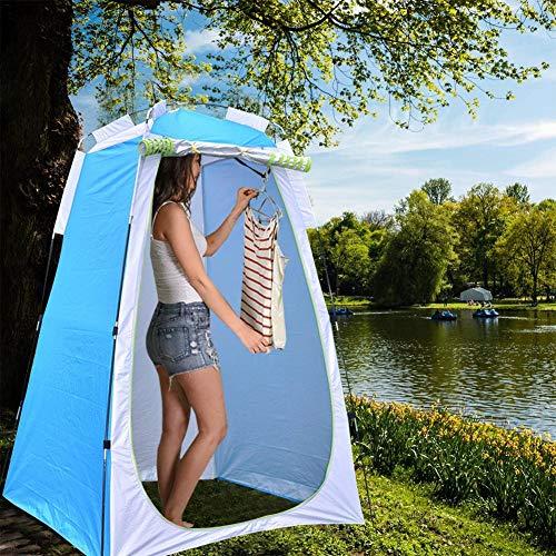Tienda de campaña desplegable para camping, vestuario, protección visual para exteriores, camping, pesca, playa, ducha, inodoro