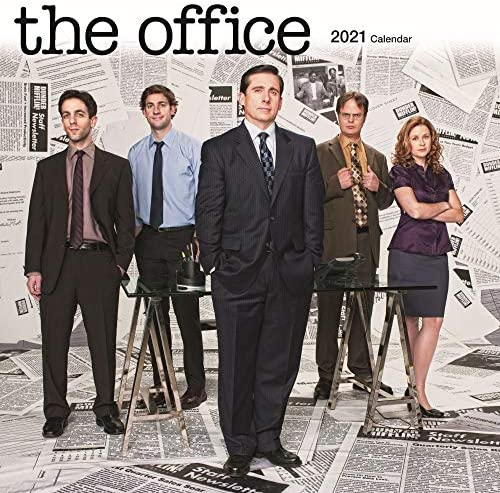 The Office Calendar 2021 Wall Calendar The Office Merchandise product image