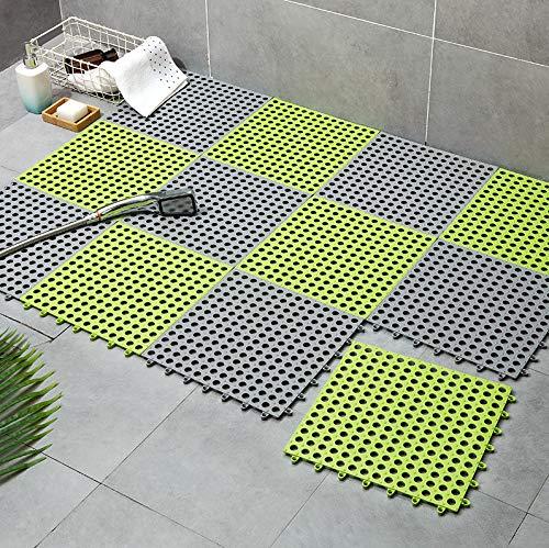 fenjinsheng Duschmatte Duschmatten Dusche rutschfest Bad Antirutschmatte Duschwannenmatten Wasserkissen Bruchsichere Toiletten Klare Füße PVC Schwimmbadfarbe