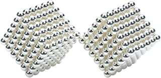 3 mm DIY Magnetic Beads Magic Balls Puzzle Set 432 Pieces Silver