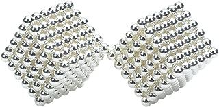 3 mm DIY Magnetic Beads Magic Balls Puzzle Set 432 Pieces Silver