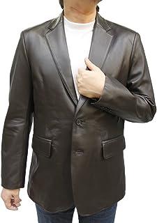 ラムテーラー 2つボタン レザージャケット メンズ ラムレザー 紳士 男性 8561