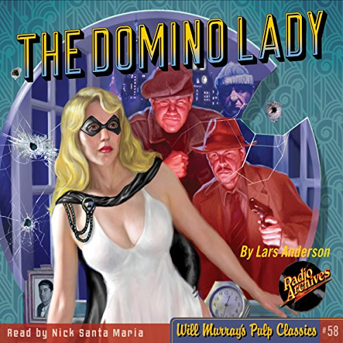 The Domino Lady audiobook cover art
