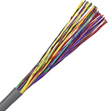 CAT3 Cable, 25 Pair, UTP, Riser Rated (CMR), Solid Bare Copper - Grey - 500ft