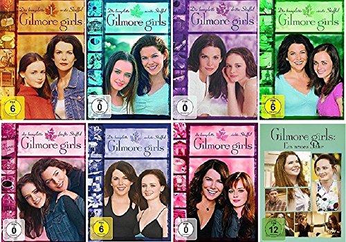 Gilmore Girls Staffel 1-8 (1+2+3+4+5+6+7+8 Ein neues Jahr) [DVD Set]
