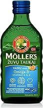 Möller's Aceite De Hígado De Bacalao Con Omega 3 Con Sabor Fruta a Para Niños y Adultos - Fish Cod Liver Oil Fruit Flavour