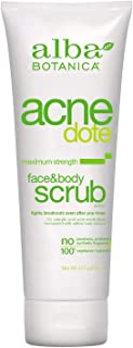 Alba Botanica Acnedote Maximum Strength Face & Body Scrub, 8 oz.