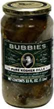 Bubbies Pure Kosher Dill Pickle 33.0 OZ(Pack of 1)