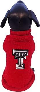 NCAA Texas Tech Red Raiders Polar Fleece Dog Sweatshirt