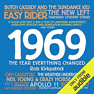 1969 audiobook cover art