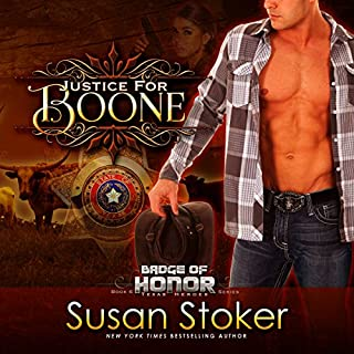 Justice for Boone audiobook cover art