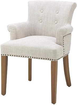 Amazon.com: Moderna silla giratoria de madera maciza ...