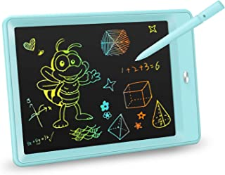 KOKODI LCD Writing Tablet, 10 Inch Colorful Toddler Doodle Board Drawing Tablet, Erasable..