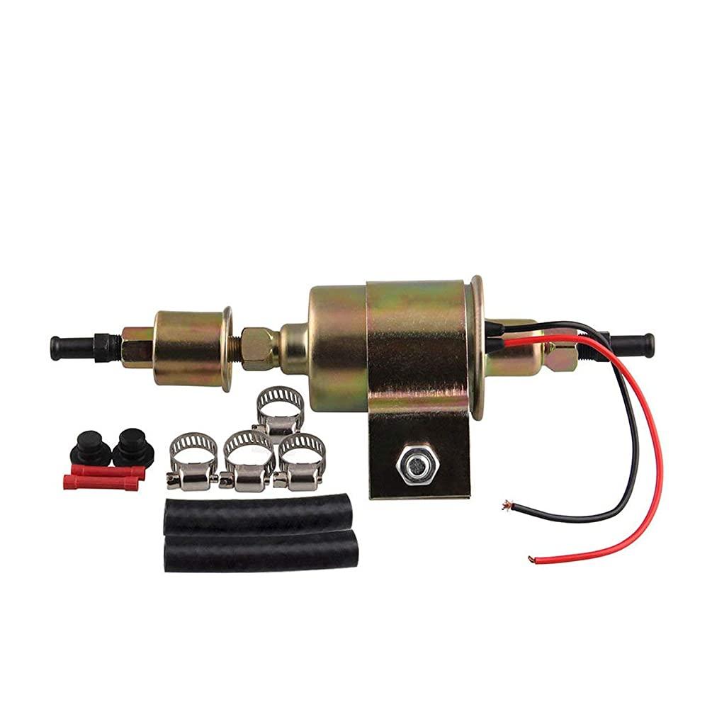 anyilon Car Modification Universal Electronic Fuel Pump 12V Oil Pump E8012S Oil Pump Assembly 5-9Psi Car Modification Accessories