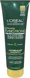 L'Oreal Paris Hair Expertise EverStrong Anti-Breakage Shampoo, Rosemary 8.5 Fluid Ounce