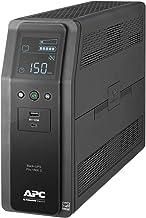 APC UPS Sine Wave Battery Backup & Surge Protector, 1500VA, APC Back-UPS Pro (BR1500MS)