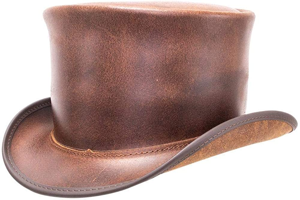 American Hat Makers El Dorado Top NEW — Limited time sale Leather Handcrafted