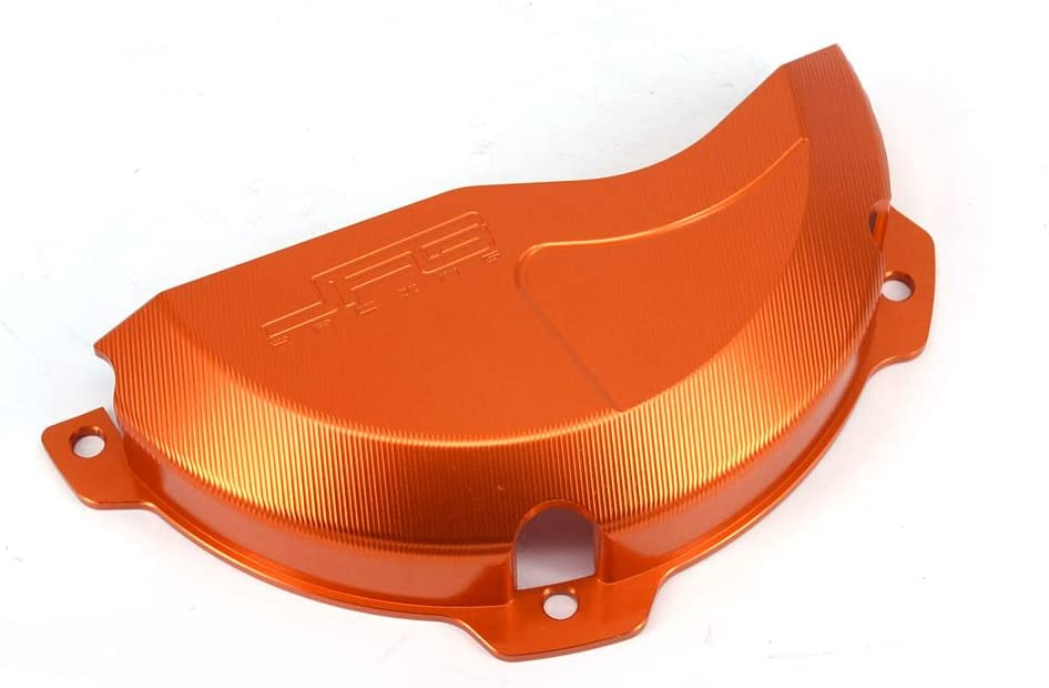 JFG Free shipping on posting reviews RACING CNC Aluminum Billet Orange G Cover Engine Clutch 1 year warranty Case