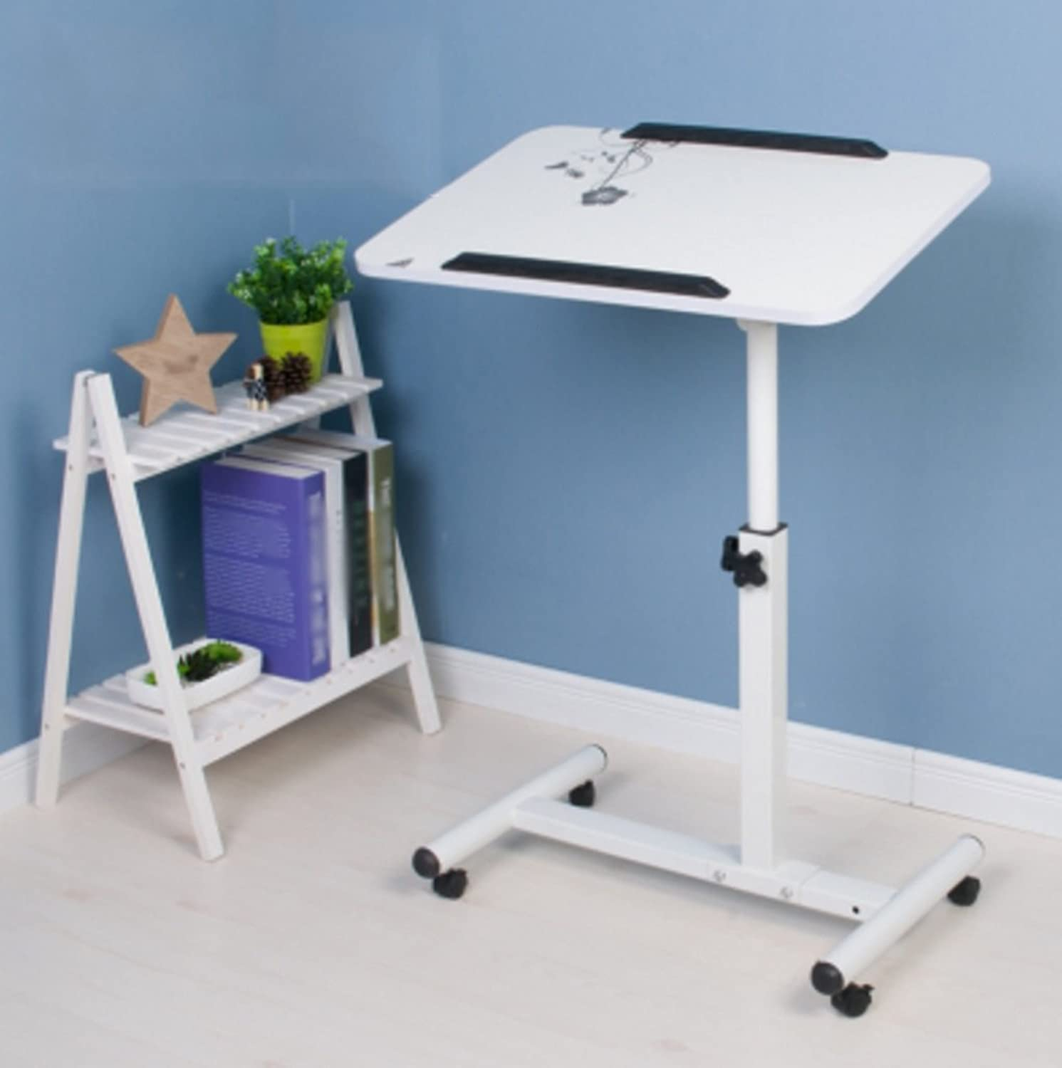 HBJP Assembly Lazy redate Laptop Table Bed Collapsible Simple and Modern Folding Table (color    3)