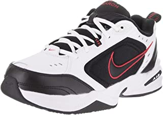Nike Air Monarch Iv White/Black/Varsity Red Soccer Shoes - 12A