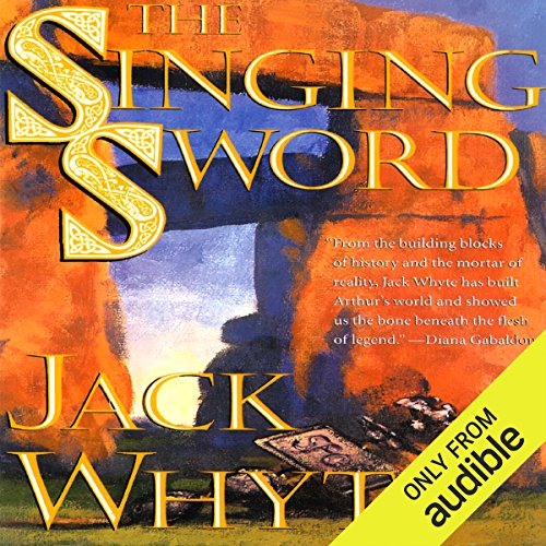 The Singing Sword audiobook cover art