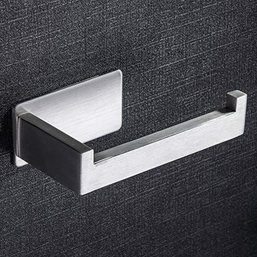 Ruicer Porte Papier Toilettes Auto-Adhesif Support Papier Toilettes Acier Inox Porte rouleau toilette pour Salle de Bain