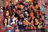Buyartforless Legends of Rap and Hip Hop 80'Sand 90's 24x16