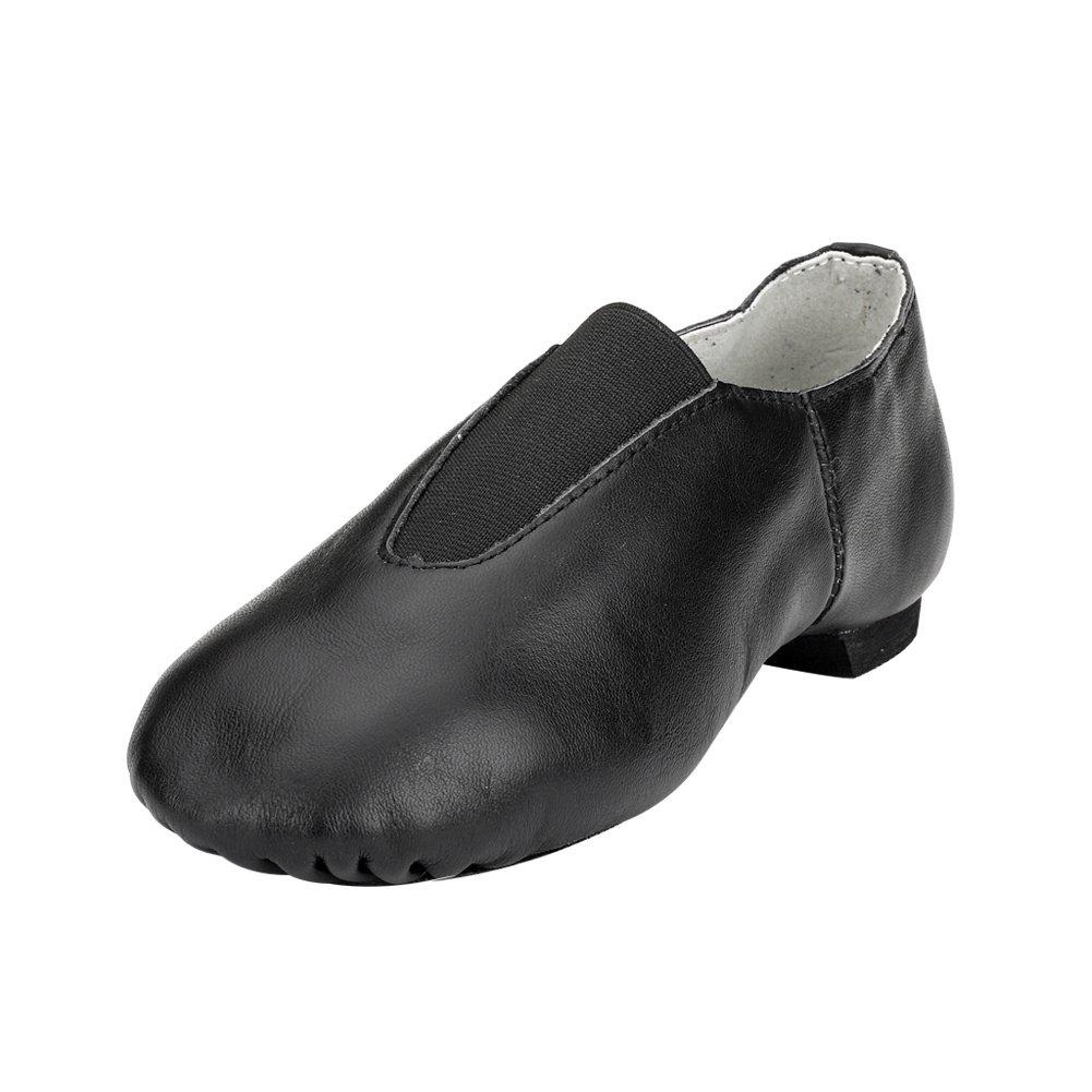MSMAX Unisex Slip on Jazz Shoes Ballet