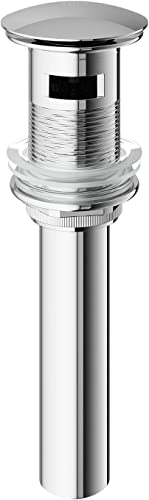"wholesale VIGO VG16002CH 2.75"" Diameter Vessel outlet sale Bathroom Sink Pop-Up Drain Stopper discount With Overflow in Chrome Finish outlet online sale"