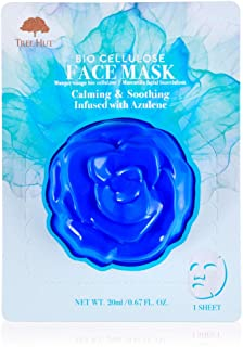 Tree Hut Skincare Bio Cellulose Face Mask, Azulene, 0.67 fl. oz.