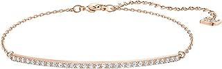 Crystal Only Line Rose Gold-Tone Bracelet