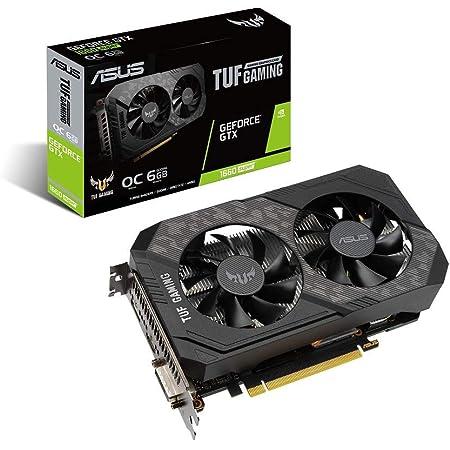 ASUS NVIDIA GeForce GTX 1660 SUPER 搭載 デュアルファンモデル 6G TUF-GTX1660S-O6G-GAMING