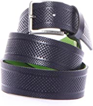 BOSS Green Men's Thery Perforated Italian Leather Belt