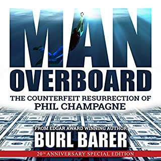 Man Overboard audiobook cover art
