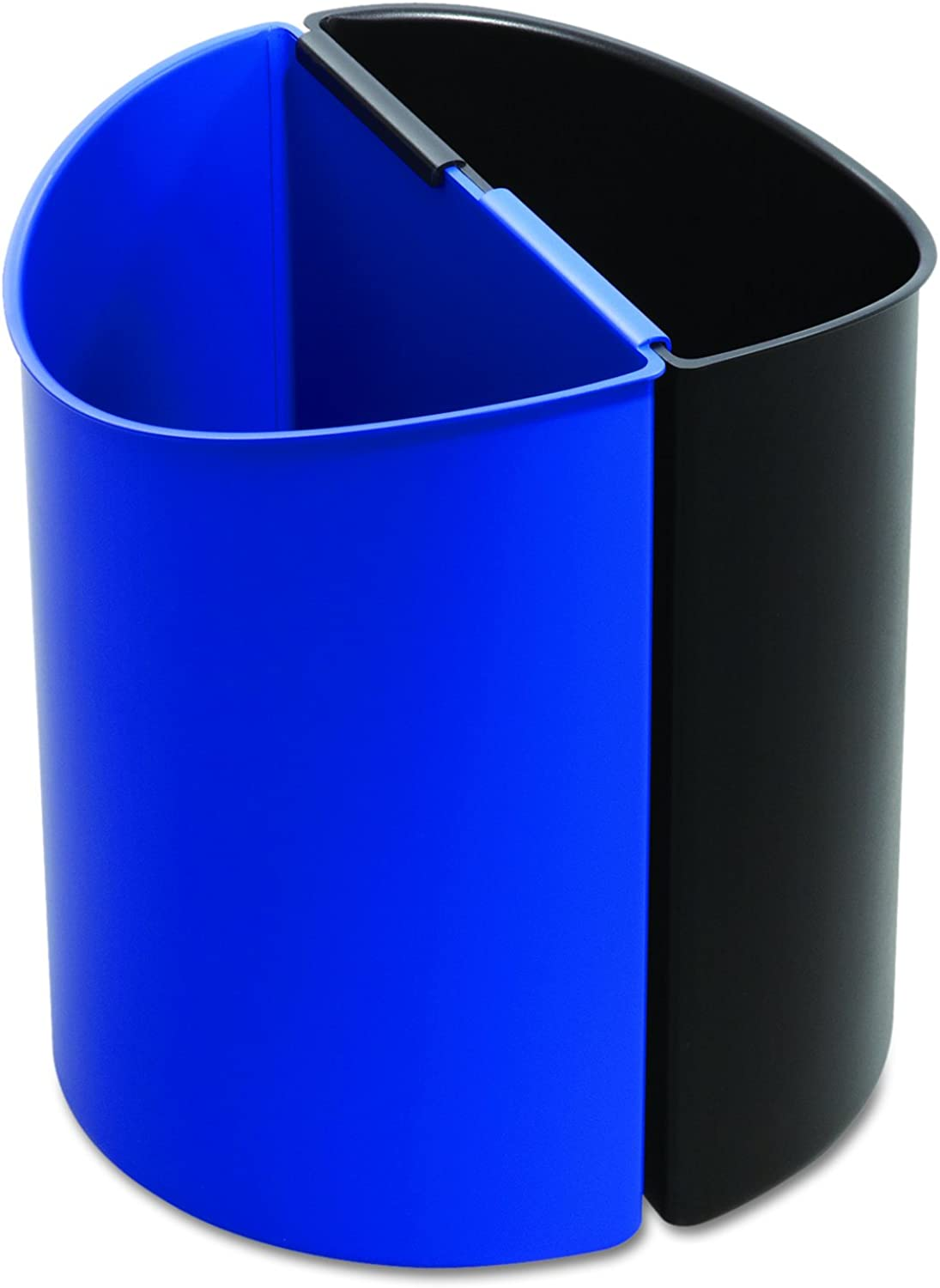 DESK-SIDE RECYCLING RECEPTACLE, 7GAL, schwarz AND Blau B006K0VOL8 | Offizielle Webseite