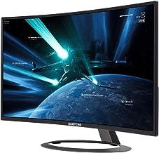 Sceptre 32-inch Curved Gaming Monitor up to 185Hz 165Hz 144Hz 1920x1080 AMD FreeSync HDMI DisplayPort Build-in Speakers, Machine Black 2020 (C326B-185RD)