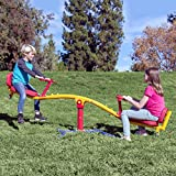 Gym Dandy Spinning Teeter Totter - Impact Absorbing Kids Playground...
