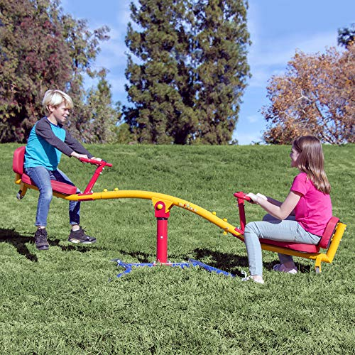 Gym Dandy Spinning Teeter Totter -...