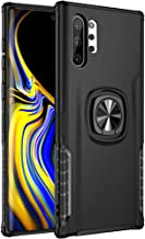 Galaxy Note 10+ Plus/Pro/5G Case, Stylish Dual Layer Hard PC Back Case with 360 Degree Rotation Finger Ring Grip Kickstand...