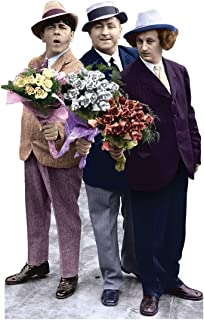Advanced Graphics The Three Stooges Flowers Life Size Cardboard Cutout Standup