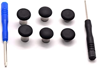 Replaceable Xbox One Elite Controller Swap Thumbstick Grips Parts Analog Joy Sticks Replacement Parts Compatible for Xbox one & PS4 DualShock 4 Controller Accessories(Thumbsticks)
