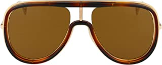 Luxury Fashion | Fendi Mens FFM0068S08670 Brown Sunglasses | Fall Winter 19