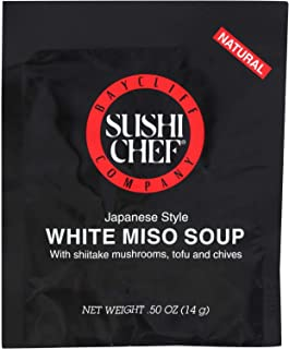 Sushi Chef Soup White Miso Japanese Style.5oz (Pack of 12)